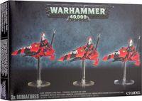 "Набор миниатюр ""Warhammer 40.000. Eldar Windrider Jetbike Squad"" (46-06)"