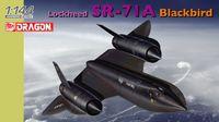 "Cверхзвуковой разведчик ""Lockheed SR-71A Blackbird"" (масштаб: 1/144)"
