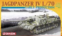 "САУ ""Jagdpanzer IV L/70 Early Production"" (масштаб: 1/72)"