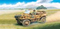 "Плавающий полноприводный автомобиль ""Schwimmwagen Type 166"" (масштаб: 1/6)"