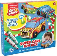 """Набор для творчества """"Super Cars Fun Box"""""""