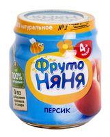 """Детское пюре ФрутоНяня """"Из персиков"""" (100 г)"""
