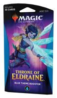 "Бустер ""Magic the Gathering. Throne of Eldraine. Синий"" (35 карт)"