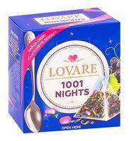 """Чай черный и зеленый """"Lovare. 1001 ночь"""" (15 пакетиков)"""