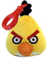 "Мягкая игрушка-брелок ""Angry Birds желтая"""