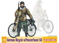 "Сборная модель ""German Bicycle w/Panzerfaust 60"" (масштаб: 1/6)"