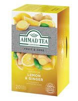 "Фиточай ""Ahmad Tea. Lemon and Ginger"" (20 пакетиков)"