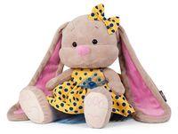 """Мягкая игрушка """"Зайка в желтом платье"""" (25 см)"""