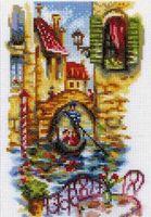 """Вышивка крестом """"Живописные каналы Венеции"""""""