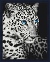 "Картина по номерам ""Леопард"" (400х500 мм)"