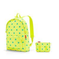 """Рюкзак складной """"Mini Maxi. Lemon Dots"""" (14 л; желтый)"""