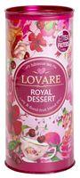 """Чай красный листовой """"Lovare. Королевский десерт"""" (80 г; в банке)"""