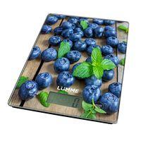 Кухонные весы Lumme LU-1340 (черничная россыпь)