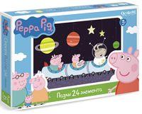 "Пазл ""Свинка Пеппа. Полет в космос"" (24 элемента)"