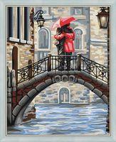 "Картина по номерам ""Свидание на мосту"" (400х500 мм)"