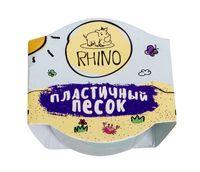 """Кинетический песок """"Rhino"""" (зелёный; 50 г)"""