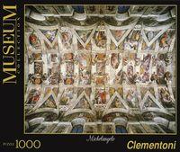 """Пазл """"Микеланджело. Панорама Сикстинской капеллы"""" (1000 элементов)"""