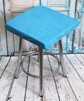 """Подушка на стул """"Velours Cuadro"""" (33х33 см; светло-голубая)"""