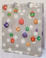 """Пакет бумажный подарочный """"Елочные шары"""" (18*21*8,5 см)"""