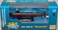"Подводная лодка USS. SSN-21 ""Си Вулф"" (масштаб: 1/700)"