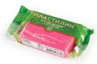 Пластилин особо мягкий кукурузный (40 г; розовый неоновый)