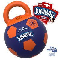 """Игрушка для собак """"Мяч с захватом"""" (26 см; сине-оранжевый)"""