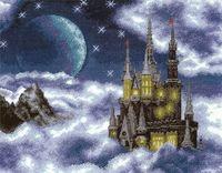 """Вышивка крестом """"Лунный замок"""" (400х310 мм)"""