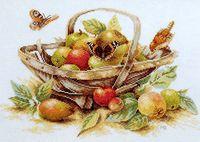 "Вышивка крестом ""Летние фрукты"" (390х290 мм)"
