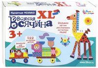 """Мозаика магнитная """"Всякая всячина XL"""" (122 элемента)"""