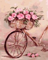 "Картина по номерам ""Дамский велосипед"" (400х500 мм)"
