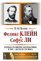 Феликс Клейн и Софус Ли. Бурное развитие математики в XIX - начале XX века