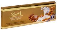 """Шоколад молочный """"Lindt. С цельным миндалем"""" (300 г)"""