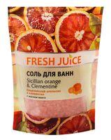 """Соль для ванн """"Сицилийский апельсин и мандарин"""" (500 г)"""