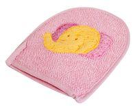 Рукавица массажная текстильная (20*16, 5 см)