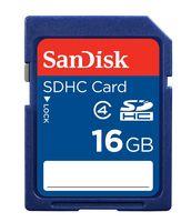 Карта памяти SDHC 16Gb SanDisk Class 4