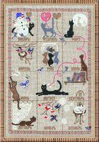 """Вышивка крестом """"Календарь"""" (арт. 728)"""
