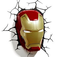 Декоративный светильник - Железный человек. Маска