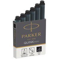 """Набор картриджей чернильных Parker """"Cartridge Quink Mini"""" (6 шт.; черные)"""