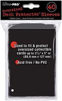 """Протекторы """"Ultra-Pro"""" (88,9х127 мм; 40 шт.; черные)"""