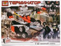 """Конструктор """"Терминатор. Стреляющий робот"""" (200 деталей)"""