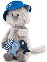 """Мягкая игрушка """"Кот Обормот. Рыбак"""" (30 см; арт. OS686/30)"""
