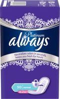 Ежедневные прокладки ALWAYS Platinum Collection Deo Normal (50 шт.)
