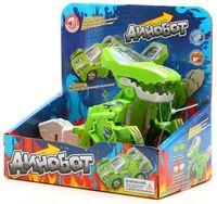 """Робот-трансформер """"Динобот"""" (зеленый; со звуковыми эффектами)"""