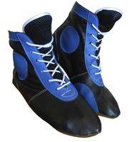 Самбовки ASSH-01 (р. 45; кожа; синие)