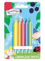 """Набор свечей для торта """"Бен и Холли"""" (5 шт.; арт. 32995)"""