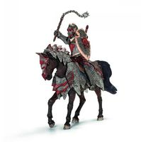"""Фигурка """"Рыцарь Дракона. Воин с боевой палицей на коне"""" (16 см)"""