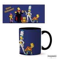 "Кружка ""Хэллоуин Симпсоны"" (арт. 531, черная)"