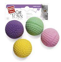 """Игрушка для кошек """"Мячики"""" (4 шт.; 8 см)"""