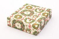"Подарочная коробка ""Christmas Wreath"" (13x15x4 см)"