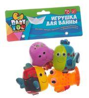 "Набор игрушек для купания ""Рыбки, рак, медуза"""